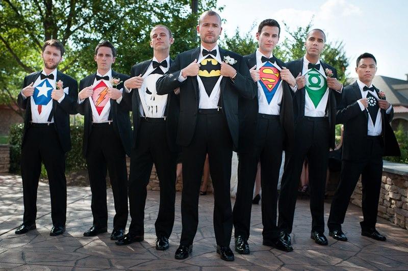 Super-Hero-Groomsmen
