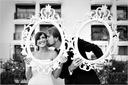 Wedding-Photo-Frame-Idea