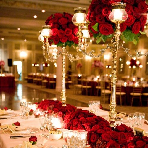 bodas color rojo
