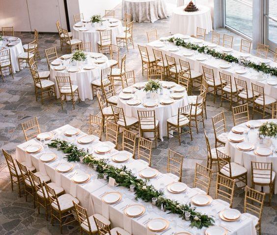 Tipos de de boda cortesa de boda informal decoracion - Tipos de mesas ...