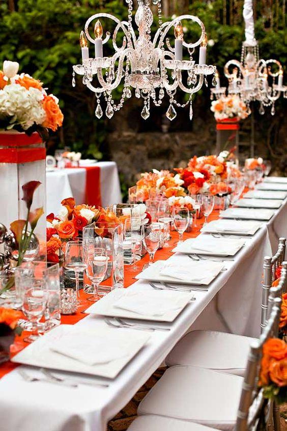 9 tips para decorar una boda color naranja bodas pr for Tips de decoracion