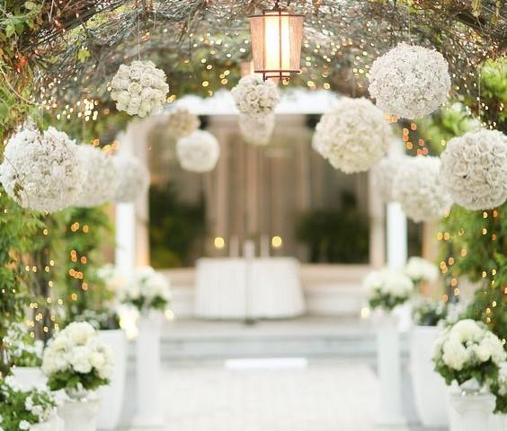 cmo decorar el altar de una boda al aire libre